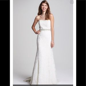 Bliss Monique Lhuillier  Lace Wedding Dress